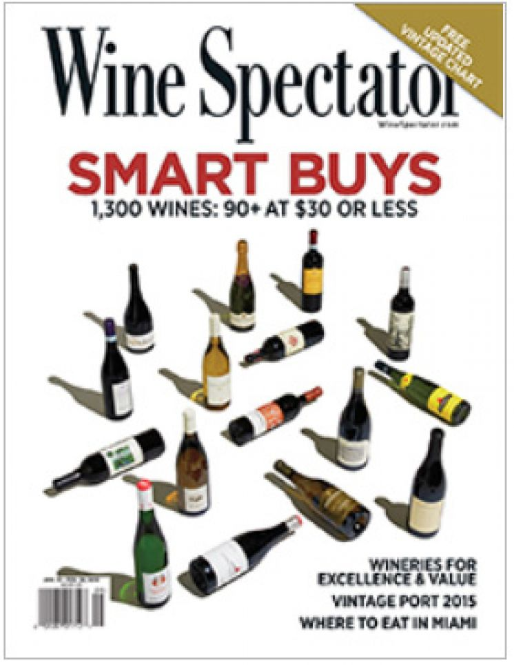 Selected as Editor's Pick in Wine Spectator Magazine!
