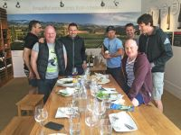 Ex-All Blacks' Tony Brown Visits Our Tasting Room!