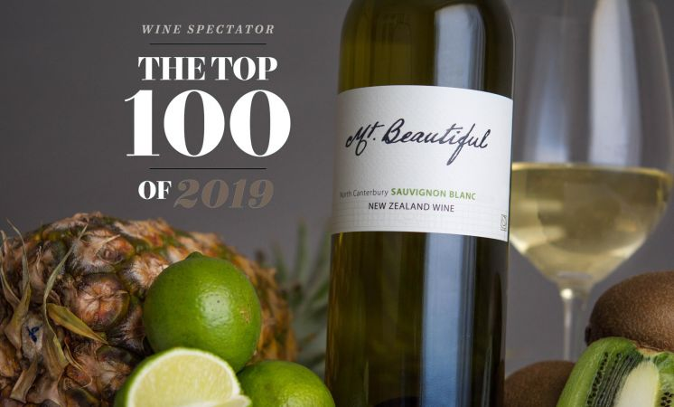 "Wine Spectator ""Top 100"" Wine of 2019 - 2018 Mt. Beautiful Sauv Blanc!"